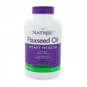 Растительные масла Natrol Flaxseed Oil 1000 мг  (200 капс)