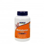 БАДы для сна и восстановления NOW Melatonin 5 мг  (180 капс)