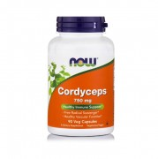 Кордицепс NOW Cordyceps 750mg   (90 vcaps)