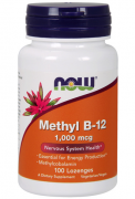 Витамин B12  NOW Methyl B-12 1,000mcg  (100 lozenges)
