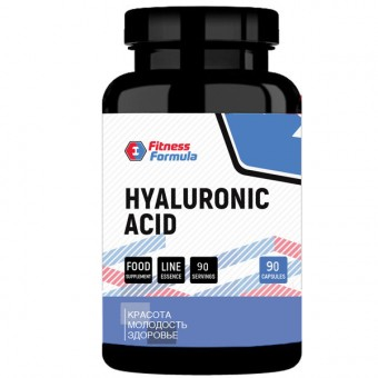 Гиалуроновая кислота Fitness Formula Hyaluronic Acid  (90 капс)