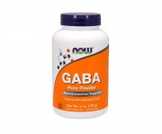 БАДы для сна и восстановления NOW GABA Pure Powder  (170 г)