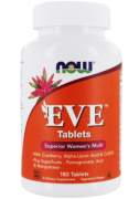 Женские витамины NOW EVE Tablets Women's Multi   (180 tabs)