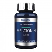 БАДы для сна и восстановления Scitec Melatonin 0.95 мг  (90 таб)