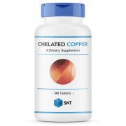 Медь (Cooper) SNT Chelated Copper 2,5 mg  (90 tabs)